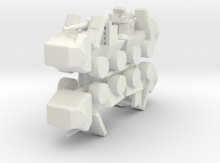 8 Self Propelled Artillery x4 3d printed
