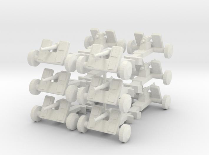 8 Field Artillery x12 3d printed