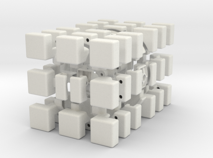 Cubic 3x3x6 Type 2 3d printed