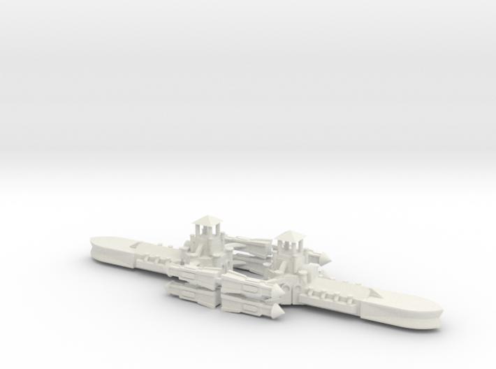 Gothic Destroyer x2 3d printed