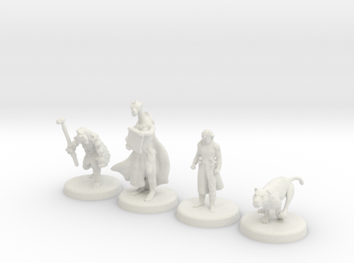 D&D Minis (Set one) 3d printed