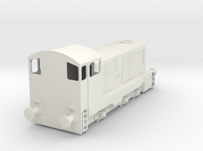 CIE E Class 421 OO Scale 3d printed