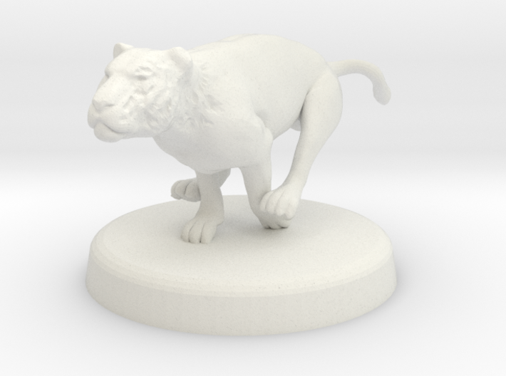 Cora Faral (Tigress - Thinking State) 3d printed