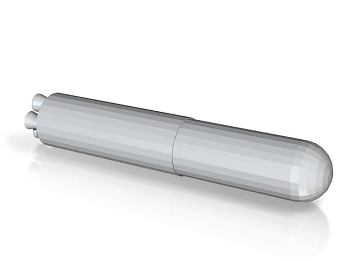 Simple Missile 3d printed