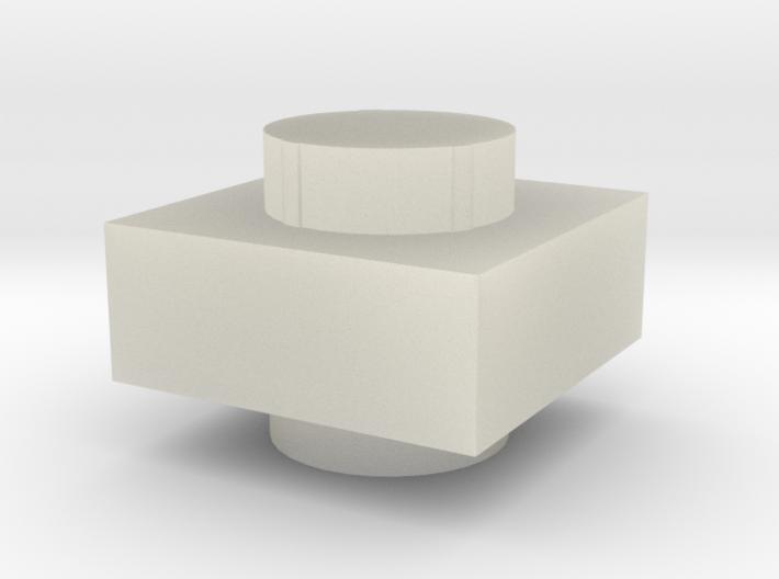 1x1 2 plugs (tbn) 3d printed