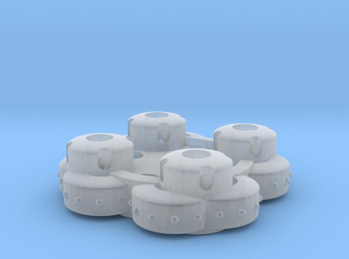 Clover Connector - Ornamental 3d printed