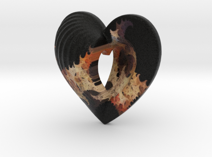 Fractal Heart Bauble 3 3d printed