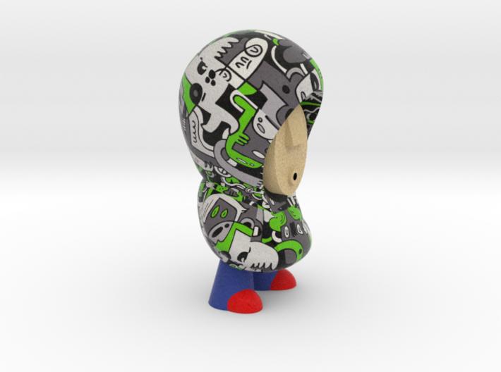 Sibi Hoodie 3d printed