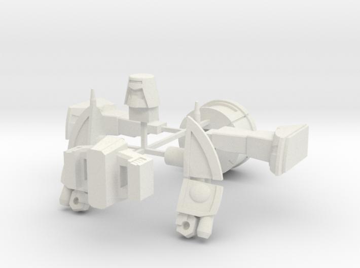 WST Little Green Robo 3d printed