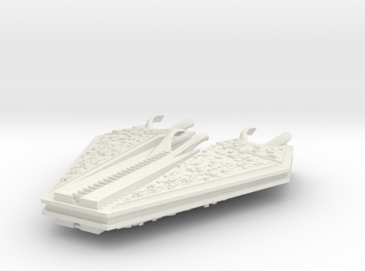 M-Ships Faction 1 Dreadnought 3d printed