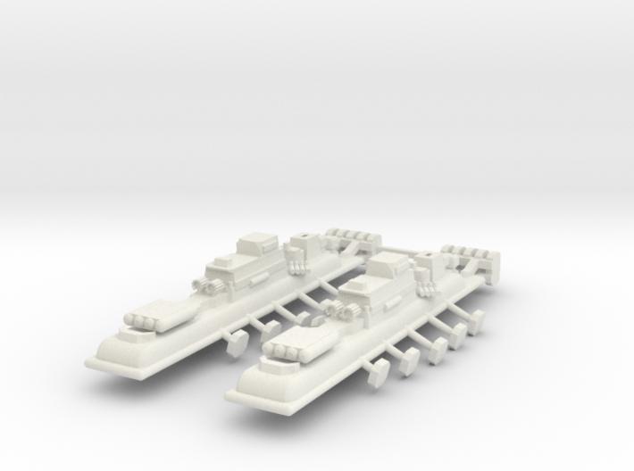 9 Air Frigate x2 3d printed