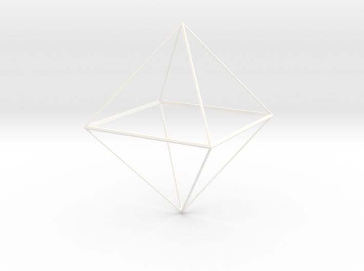 Oktaeder 6 cm 3d printed