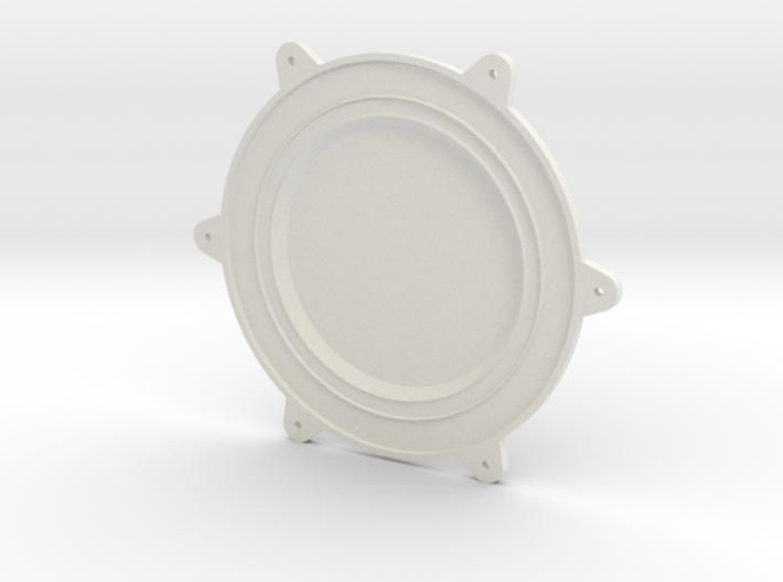 Cleanroom Inlet Fan Endcap 1 of 2 3d printed