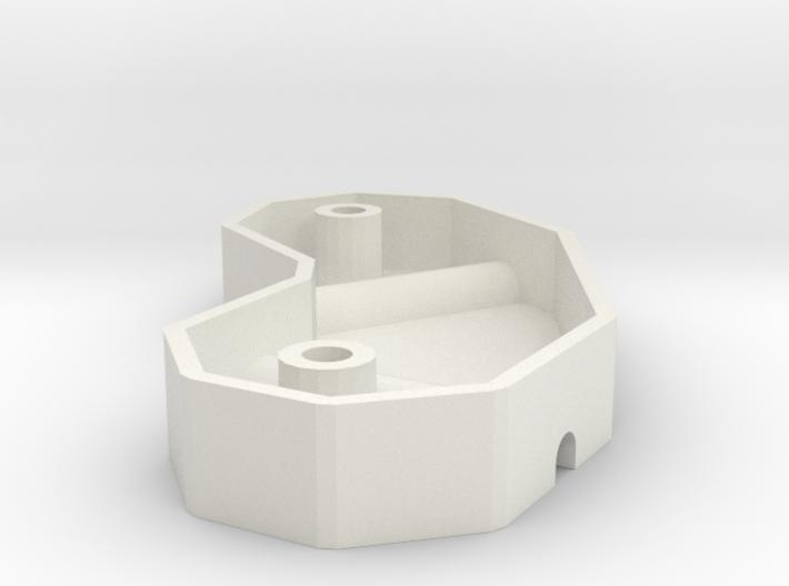 Reprap frame vertex mold 3d printed