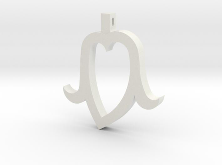 Heart Head 3d printed