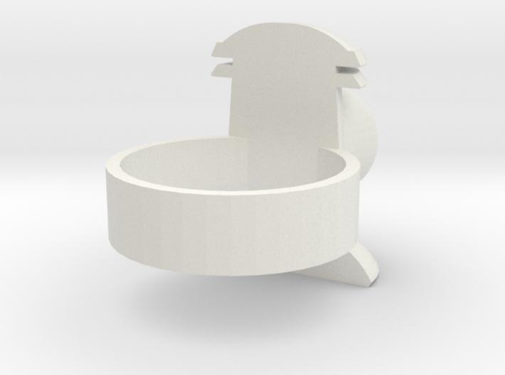 Revised design-Alan Scott GL ring 3d printed