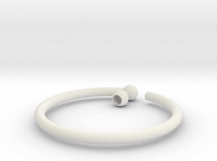 Glass Charm 1 Ring 3d printed