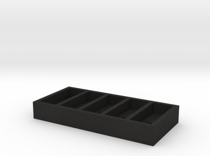 Mini-HRM silicone mold (5 sensors) 3d printed