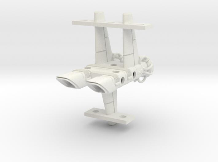 Mulcien Horarum Class Battlecruiser 3d printed