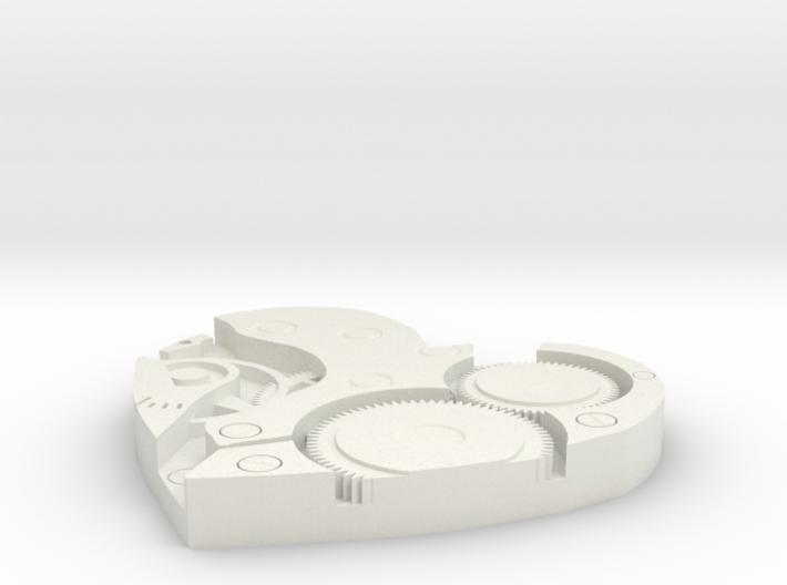 Heart Clock 3d printed