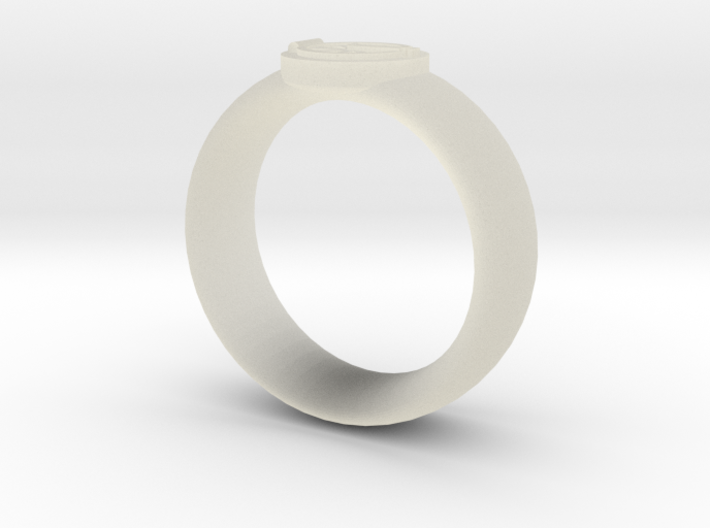 collada ring test 3d printed