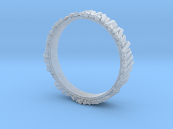 Matchstick Ring 3d printed
