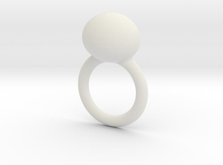 deel 2 ring met worm 3d printed