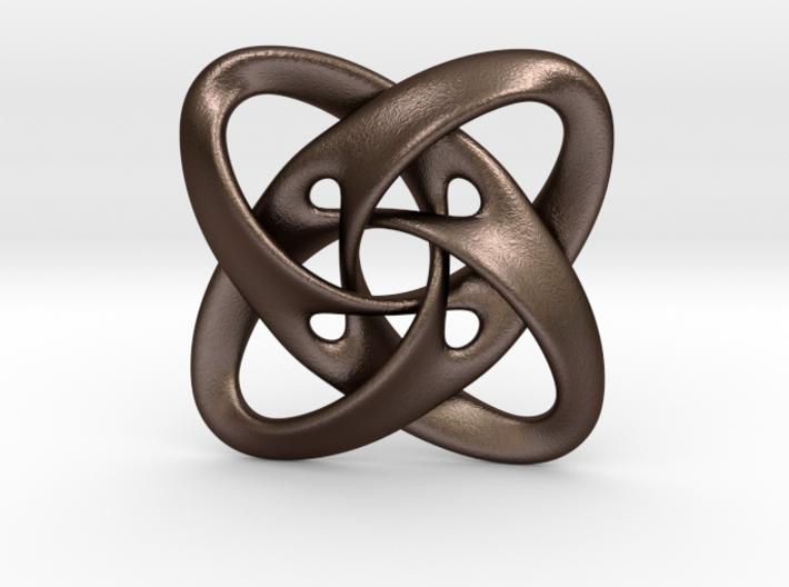Sphere eversion (pendant) 3d printed