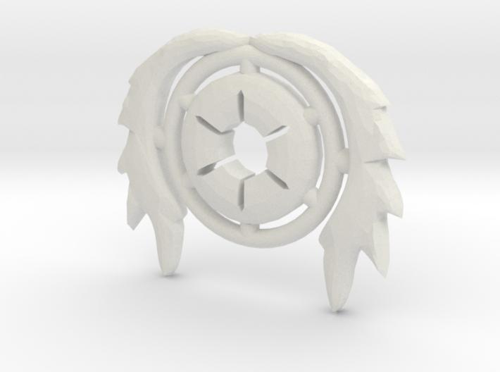 Pilot Crest 3d printed