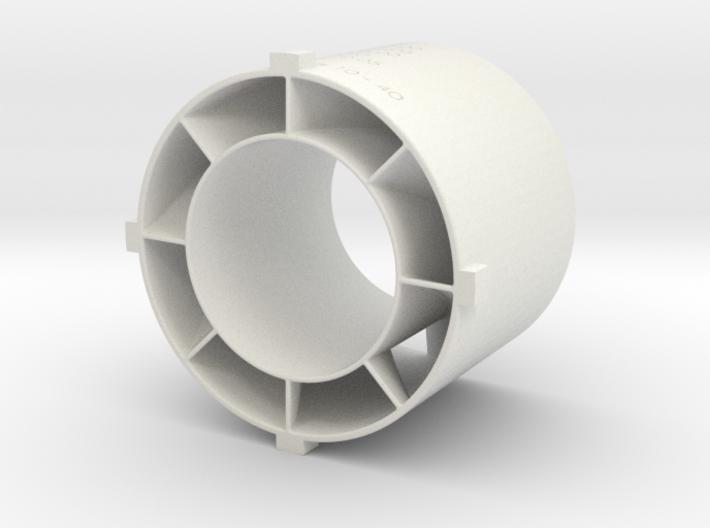 swirler v3_02 3d printed
