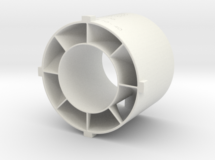 swirler v3_03 3d printed