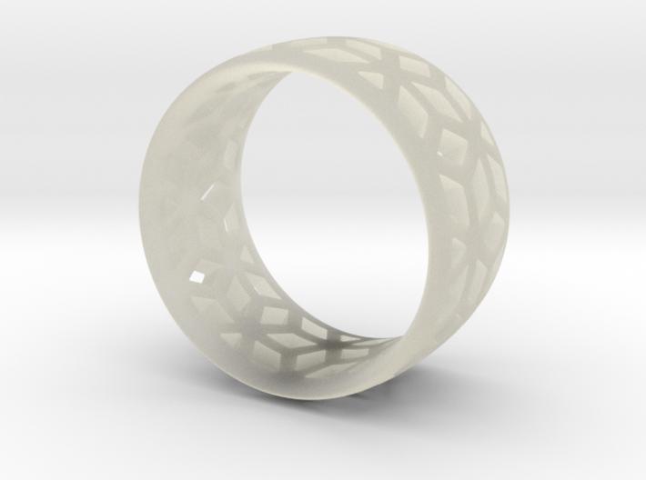 geometric ring 2 3d printed