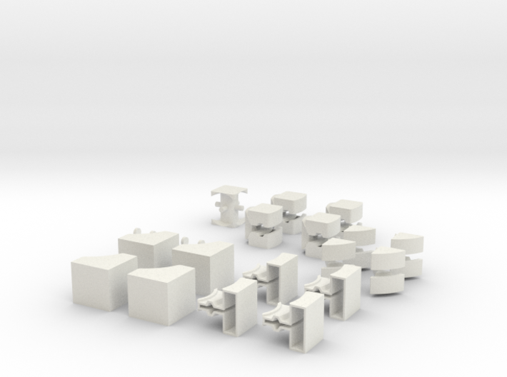 Crazy floppy cube 3d printed