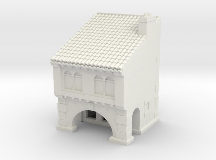 medieval house 3d printed