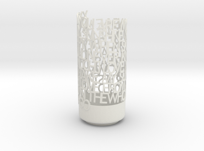 Light Poem SUNSHINE 3d printed