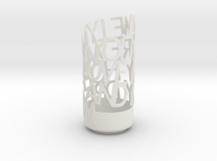 Light Poem-jaime 3d printed