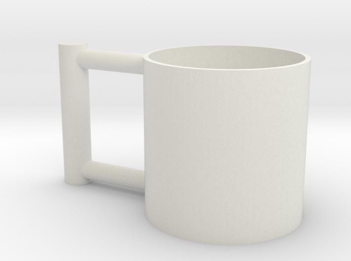 Greedy Cup 3d printed