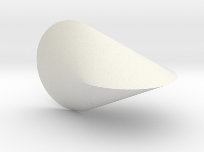 Oloid 2-circle roller 3d printed