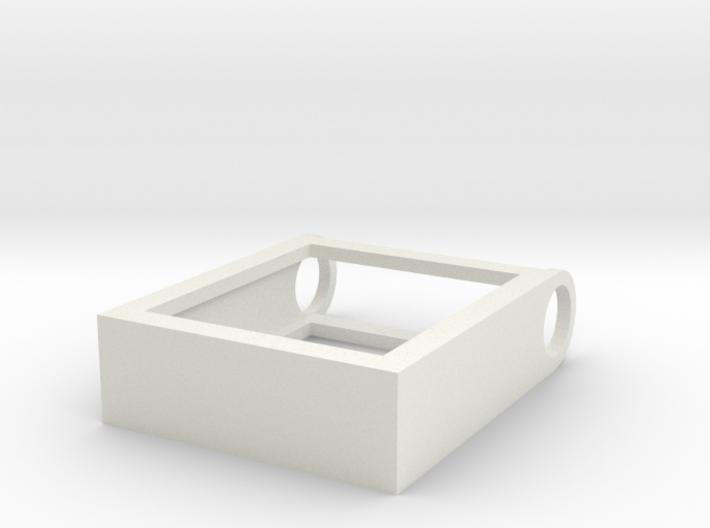 Scrabble Tile Pendant 3d printed