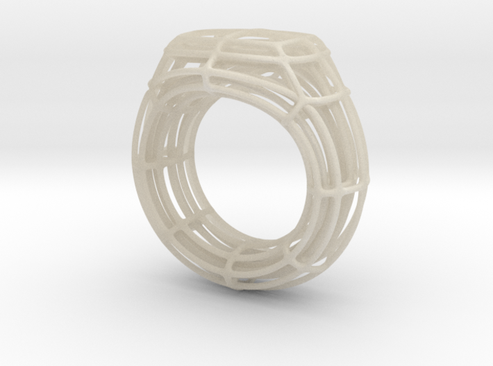 Wire Signet 3d printed