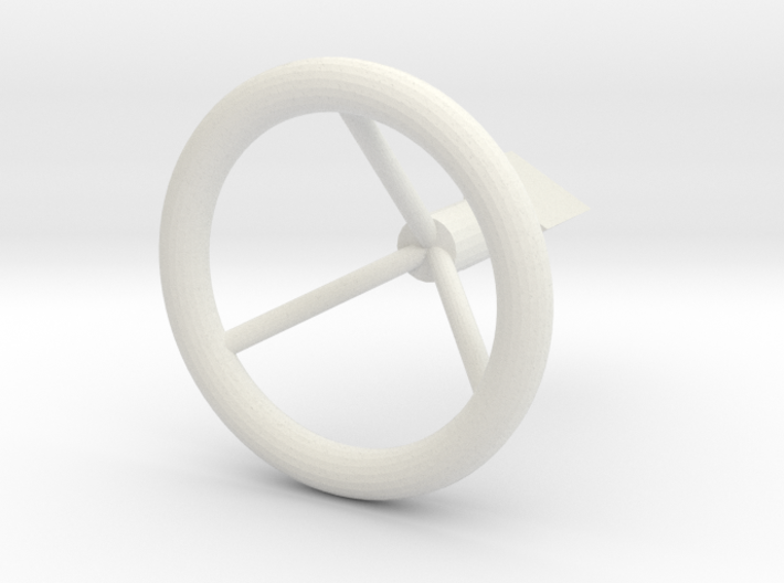 Engine Knob 3d printed