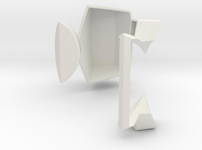 Master Pentagonal Floppy Prism CORNER STUFF (PRINT 3d printed