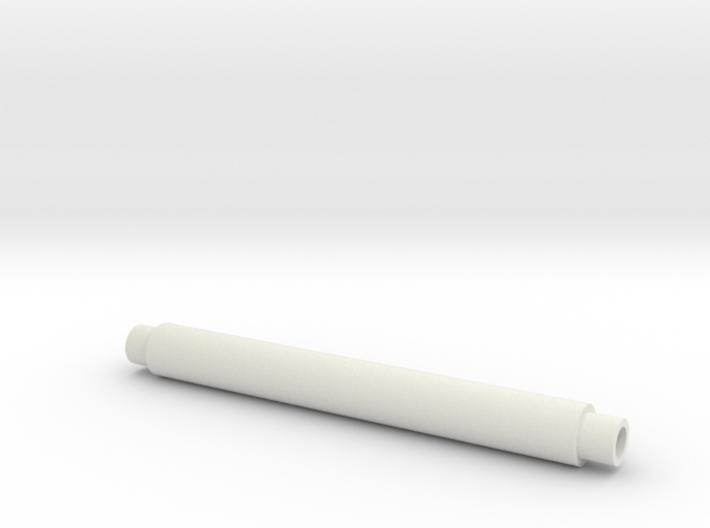 Platonic solids kit, bar 50mm x 6mm 3d printed