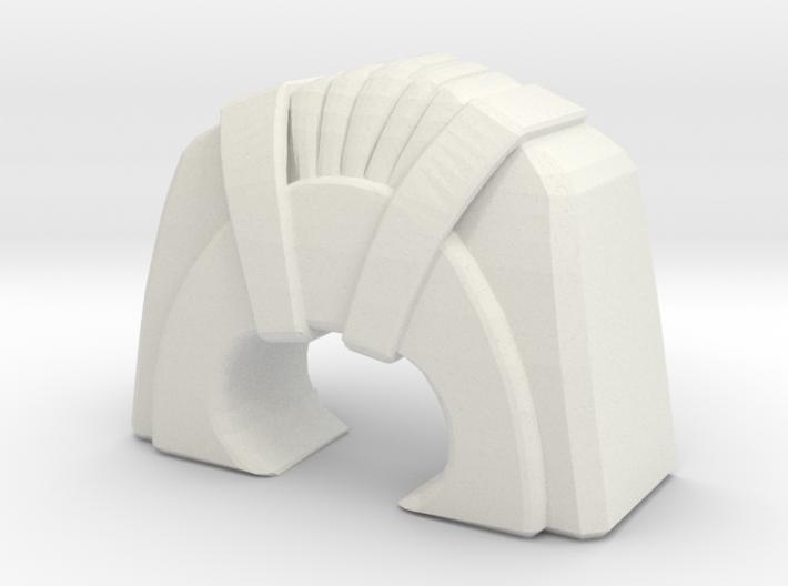 Rekki-Maru Pommel 3d printed