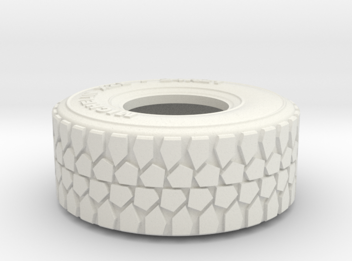 1:35 scale military truck tire 3d printed