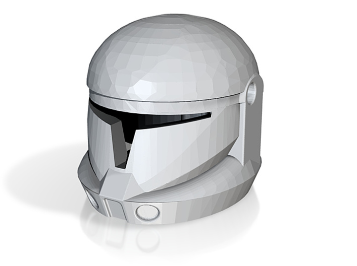 CW Commando Helmet Open 3d printed