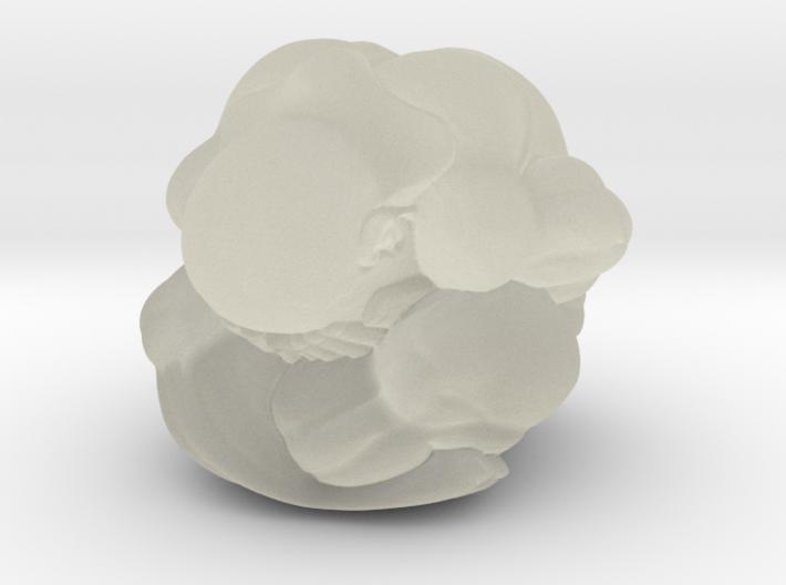 Weeping Buddha Secret Skull 3d printed