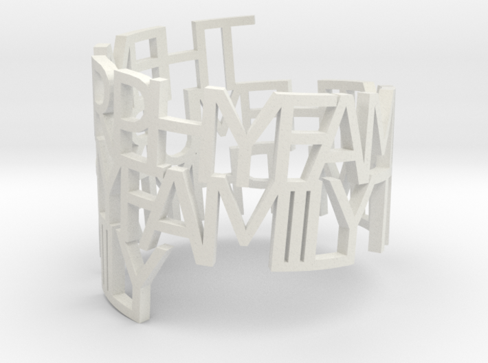 The Murphy Family 3d printed