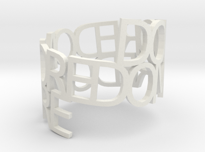 Ring Poem do more 3d printed