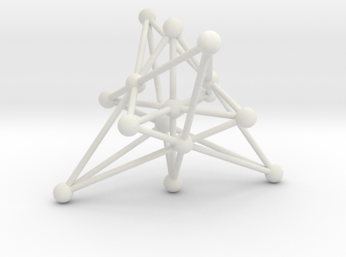 003: Generalized Quadrangle of order 2 3d printed